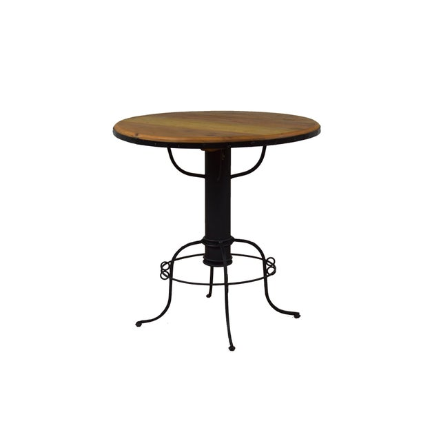 Ideal for dining or entertaining, our Rustic Bistro set comes complete with a table and four adjustable chairs. The richly...