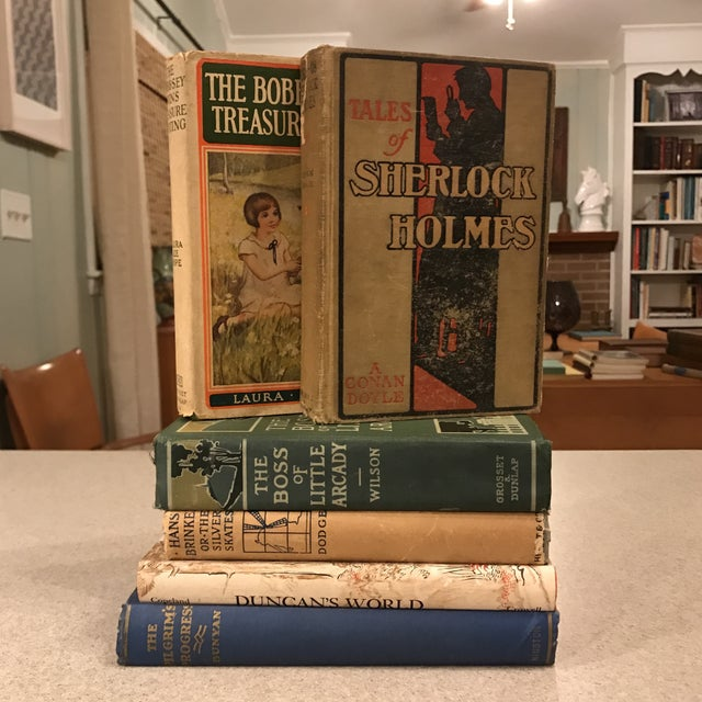 Decorative Assorted Books - Set of 6 For Sale - Image 11 of 11