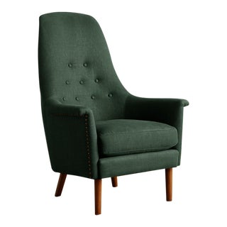 Anthropologie Linen Alistair Chair