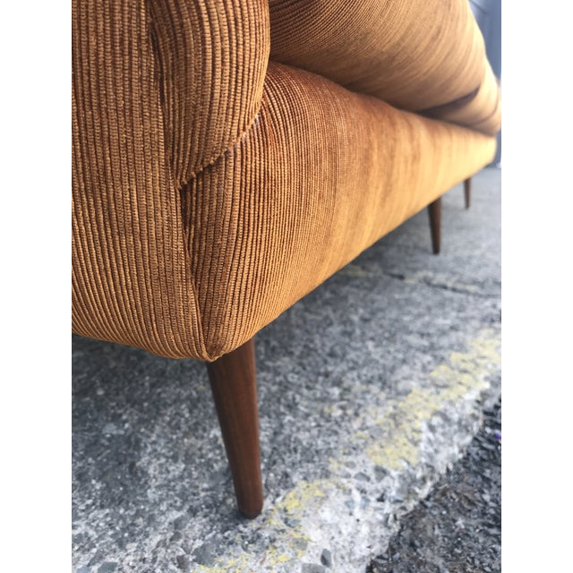 Reupholstered! Early Milo Baughman Thayer Coggin Four Seat Sofa For Sale - Image 12 of 13