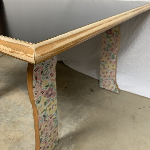 """Robert Venturi """"Cabriole Leg"""" Table for Knoll For Sale - Image 9 of 12"""