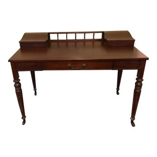 English Traditional Heritage Henredon Writing Desk For Sale