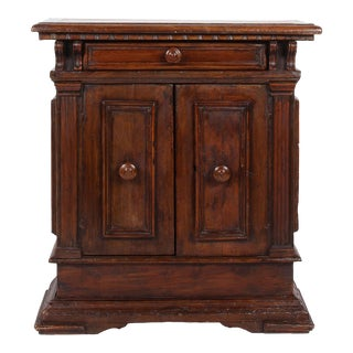 18th C. Italian Tuscan Walnut Cabinet Credenza For Sale