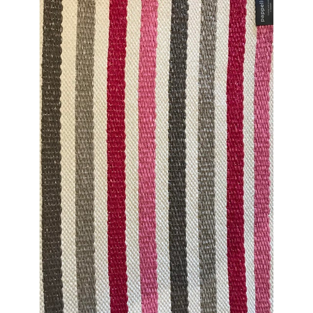 Stylish, simple modern Pappelina rug. Made from Swedish produced plastic woven in Sweden. Indoor and outdoor. Machine wash...