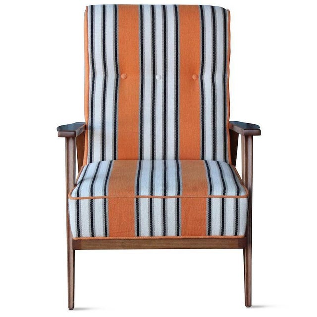 Hollywood at Home Hollister Armchair For Sale - Image 4 of 6