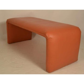 Vinyl Waterfall Style Bench From Catskill Ny Resort Preview