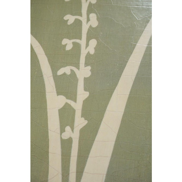 Contemporary Floral Fern Organic Modern Botanical Art For Sale - Image 3 of 7
