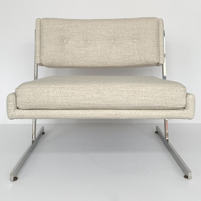 1960s Pair of Harvey Probber Cantilever Slipper Lounge Chairs For Sale - Image 5 of 13