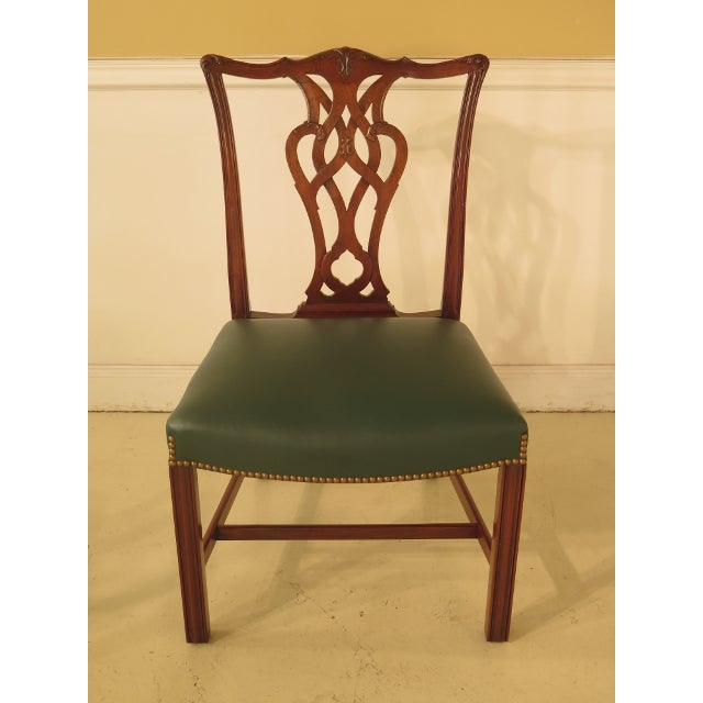 Chippendale Mahogany Dining Room Chairs - Set of 8 - Image 8 of 11