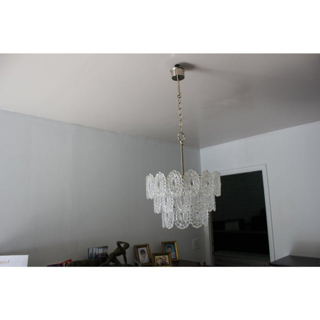 Italian Modern Chandelier by Murano Glass, Circa 1960s For Sale - Image 10 of 12