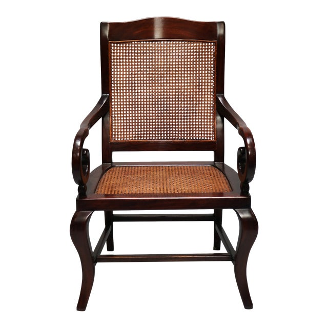 Guangdong Ironwood Colonial Armchair For Sale