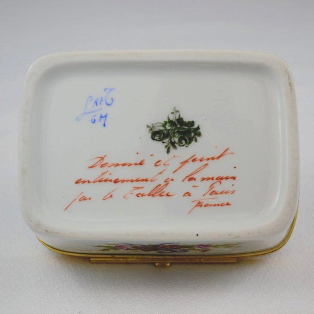 Traditional Atelier LeTallec Porcelain Box For Sale - Image 3 of 10