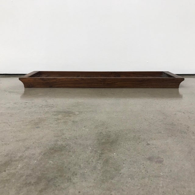 Don Shoemaker Senal Wood Tray For Sale In Houston - Image 6 of 7