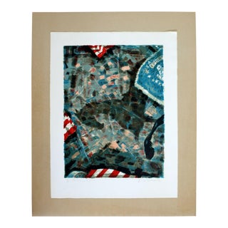 """""""Homage to JFK"""" by Emil Weddige Unframed Lithograph For Sale"""