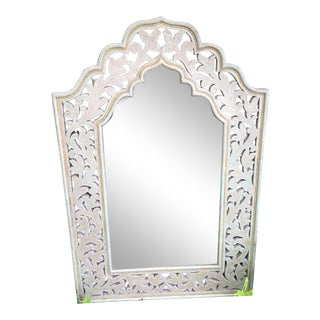 Moroccan Style Hand Worked Solid Wood Cutout Frame For Sale