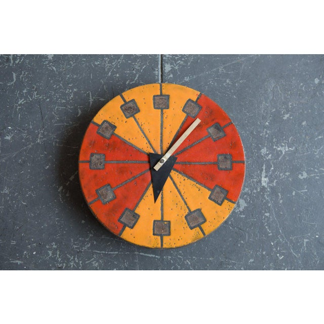 "Mid-Century Modern ""Meridian"" Line George Nelson Clock For Sale - Image 3 of 4"