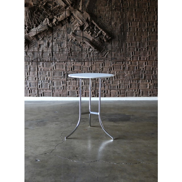 1975 Vintage Cedric Hartman Occasional Table For Sale In Los Angeles - Image 6 of 7