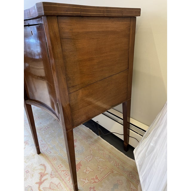 1876 Hepplewhite Mahogany Sideboard For Sale In Boston - Image 6 of 10