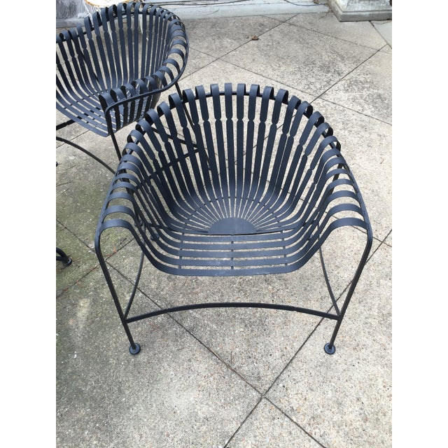 Mid-Century Modern Mid-Century Outdoor Patio Set - Set of 5 For Sale - Image 3 of 9