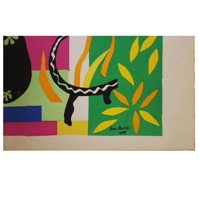 "Henri Matisse 1952 ""Tristesse Du Roi"" Original Lithograph by Henri Matisse For Sale - Image 4 of 6"