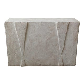 Postmodern Plaster Console Table For Sale