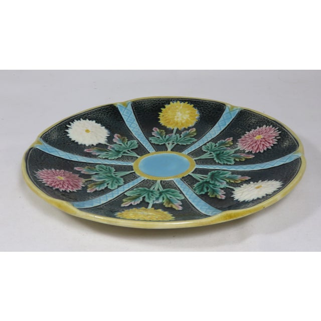 This is a beautiful Antique Majolica Serving Dish. It was made in England and is Signed Wedgwood. It was made during the...
