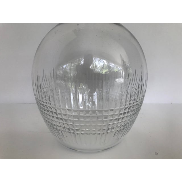 Late 20th Century Vintage Baccarat Nancy Crystal Decanter For Sale - Image 5 of 9
