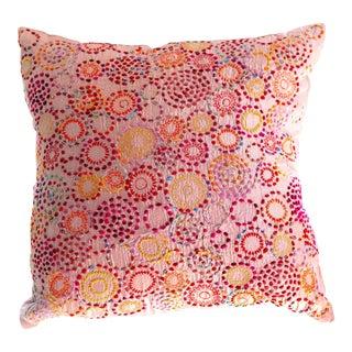 Contemporary Staprans Design Neeru Kumar Silk Cushion For Sale