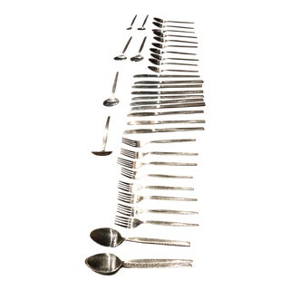 Rogers Mid-Century Flatware - Service for 10