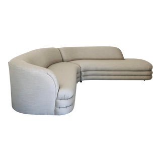 1970s Vladimir Kagan Directional Sectional Sofa For Sale