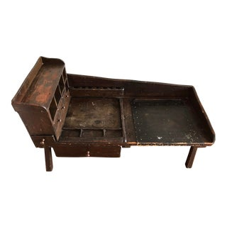 Vintage Cobbler's Bench Coffee Table For Sale