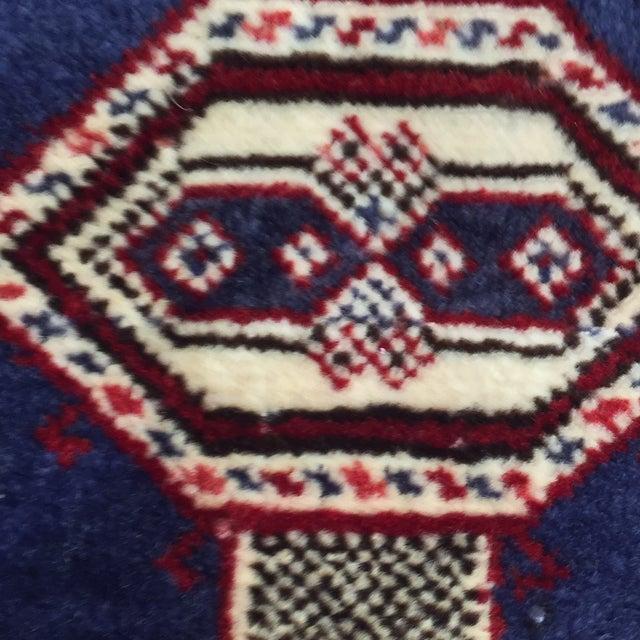 "Turkaman Handmade Persian Rug - 2'1"" X 2'8"" - Image 7 of 9"