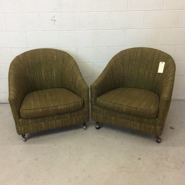 Richardson Nemschoff Horshoe Shaped Chairs - a Pair For Sale - Image 13 of 13