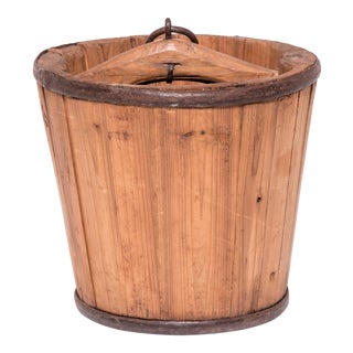 Provincial Chinese Water Bucket For Sale