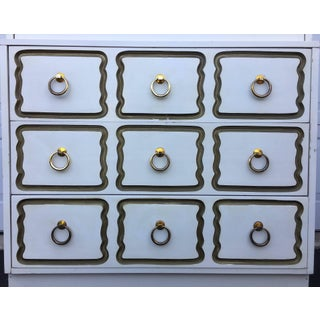 Dorothy Draper Espana Style Hollywood Regency Tall Chest of Drawers Preview