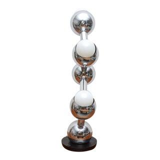 Robert Sonneman Atomic Table Lamp, 1950s, Usa For Sale