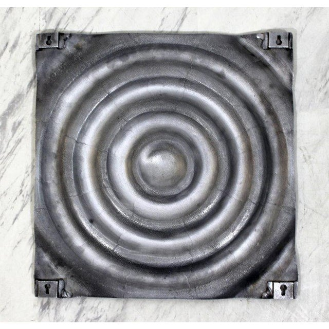 Mid-Century Modern Aluminium Cast Saturn Ring Wall Sculpture Relief, 1970s For Sale In Detroit - Image 6 of 7