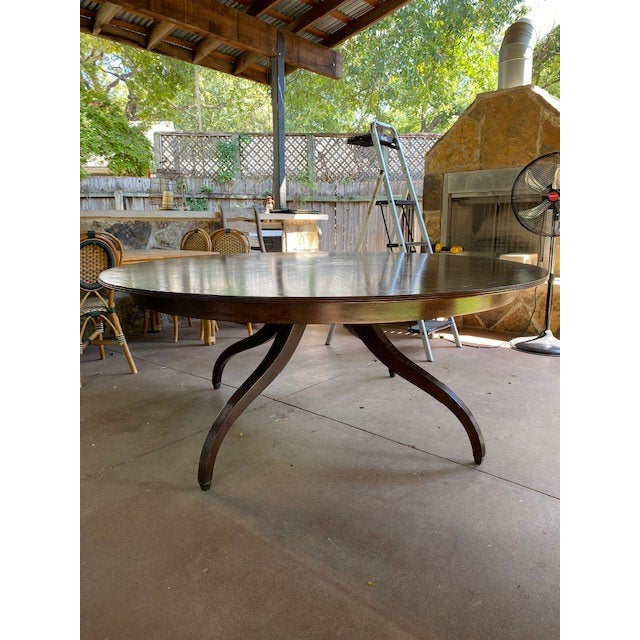 Regency Rose Tarlow Melrose House Dining Table For Sale - Image 10 of 10