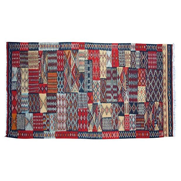 Moroccan Rug- 8'3'' X 3'10'' For Sale