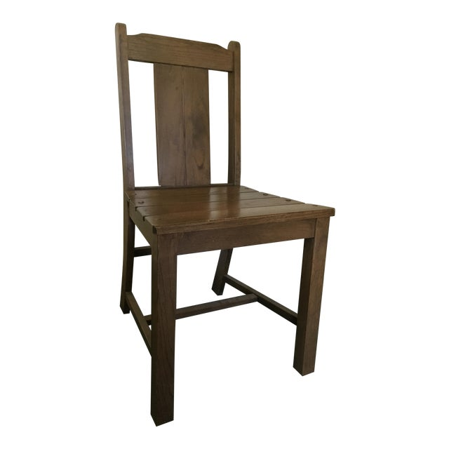 1969 Vintage Wooden Chair - Image 1 of 9
