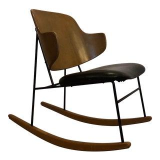 Vintage Kofod Larsen Penguin Rocking Chair For Sale