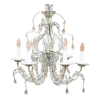 Shabby Chic French Chandelier For Sale