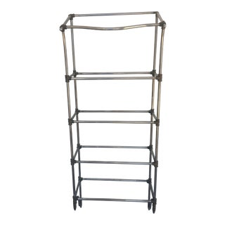 1940s Vintage Metal Etagere For Sale