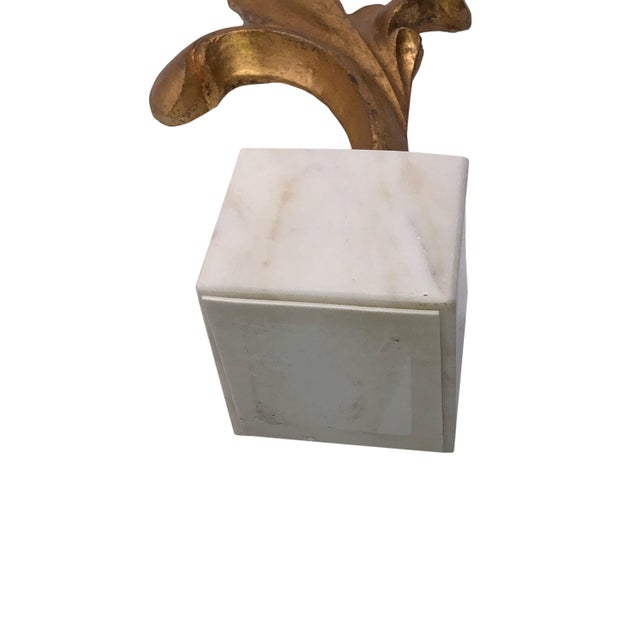 2000 - 2009 Vintage French Scroll Design Architectural Fragment For Sale - Image 5 of 6