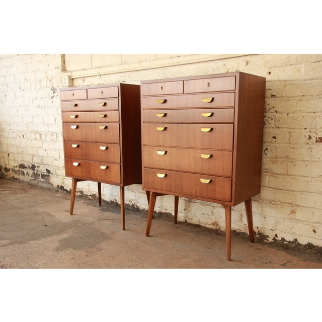 Contemporary Helmut Magg for Wk Möbel Bachelor Chest - One Available For Sale - Image 3 of 10