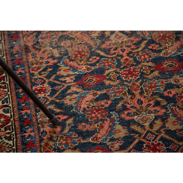 "Vintage Distressed Bijar Rug Runner - 3'7"" x 15'2"" - Image 7 of 10"