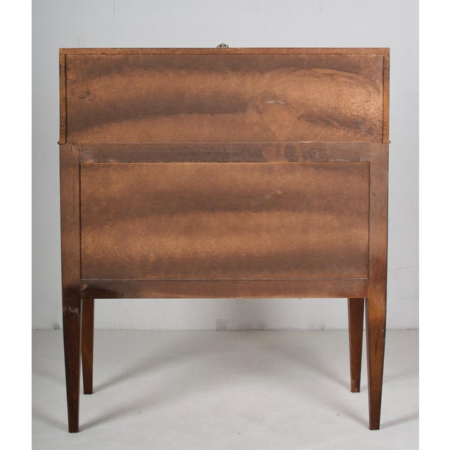 Late 19th Century 19th Century Louis XVI Walnut Desk/Writing Table For Sale - Image 5 of 6