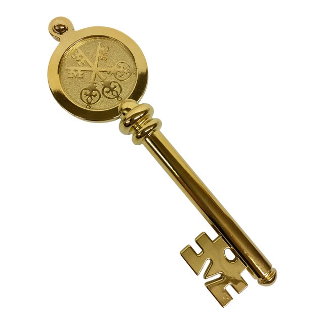 Swiss Bank Golden Key Letter Opener - Image 1 of 11