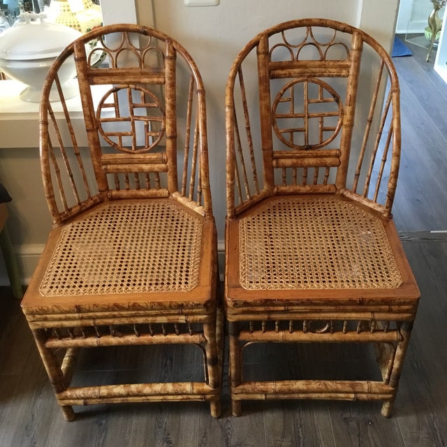 Vintage Brighton Chinese Chippendale Chairs - A Pair - Image 11 of 11