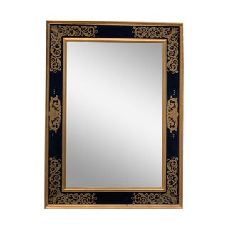 Italian Florentine Style Wall Mirror For Sale